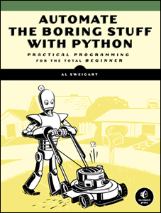 Automate the Boring Stuff with Python ebook cover